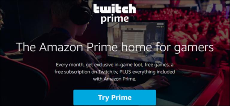 Как получить бесплатные игры и игровые предметы от Twitch Prime