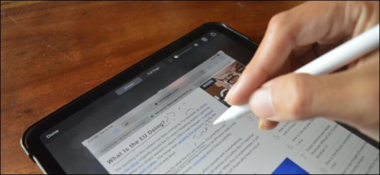Как делать и комментировать скриншоты на iPad с помощью Apple Pencil