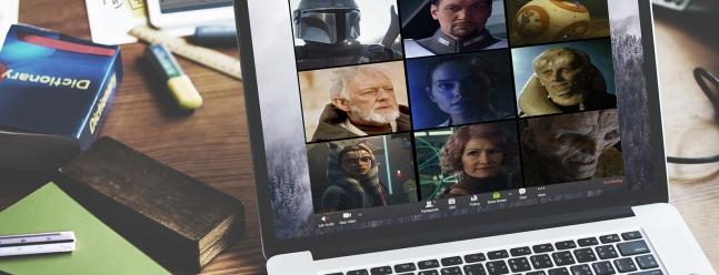 Используйте эти фоны «Звездных войн», чтобы перевести зум в Галактику далеко, далеко — Обзор Geek