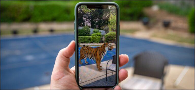 Станьте королем тигров с этими 3D животными и объектами Google