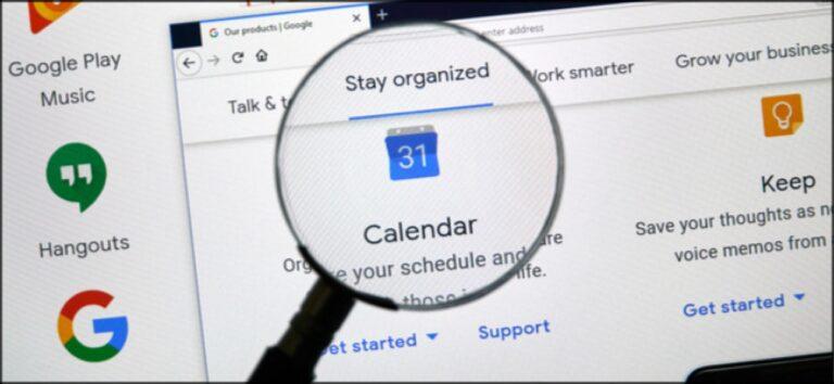 Сочетания клавиш для Календаря Google: Шпаргалка