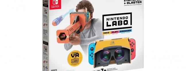 Snag a Nintendo Labo VR и автомобильный комплект по 20 долларов США на Best Buy — Обзор Geek