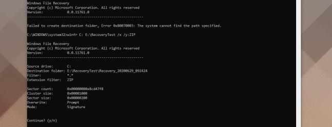 Новый инструмент восстановления файлов от Microsoft бесплатен для пользователей Windows