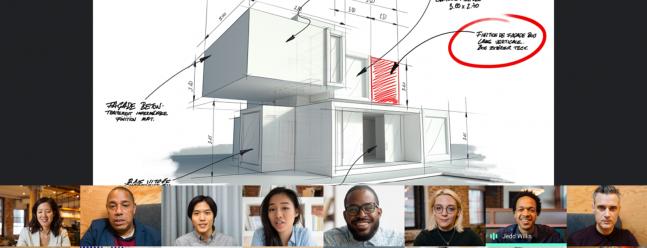 Google Meet добавляет представление презентации к своему плиточному макету — Обзор Geek