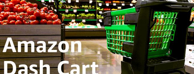 Amazon Dash Cart поможет вам самостоятельно оформить заказ во время покупок — Geek Review