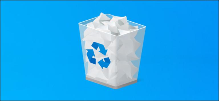 Как пропустить корзину для удаления файлов в Windows 10