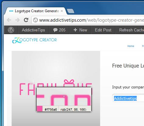 Выберите цвета с сайтов, чтобы скопировать их шестнадцатеричные коды в буфер обмена [Chrome]