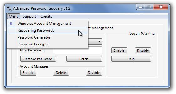 Генерация, резервное копирование и шифрование паролей с помощью Advanced Password Recovery