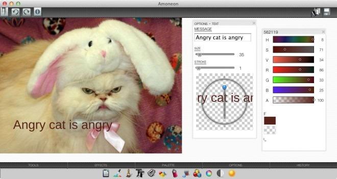 Добавление неоновых мазков, форм и текста к изображениям [Mac]