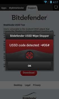 Bitdefender USSD Wipe Stopper предотвращает взлом удаленного сброса на Android