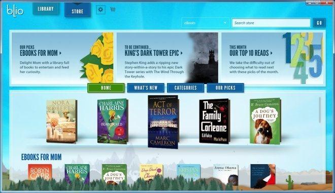 Электронная книга, отображающая электронные книги в их исходном формате
