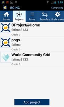 BOINC позволяет вашему устройству Android участвовать в исследованиях, когда оно простаивает
