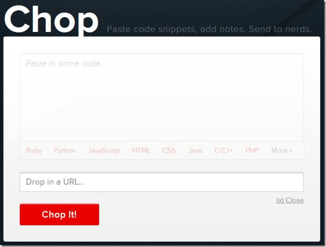 Chop упрощает проверку кода для разработчиков