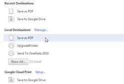 Сохраняйте веб-страницы в формате PDF на жесткий диск или Google Диск и отправляйте их по факсу в Chrome