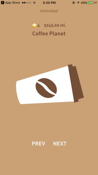 Как найти ближайшую кофейню [iOS]