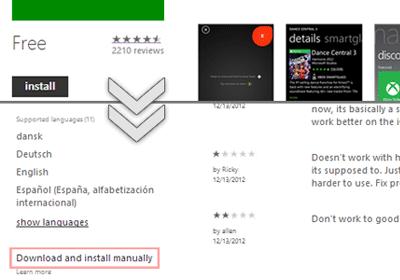 Загрузка и установка приложений Windows Phone вручную с помощью SD-карты