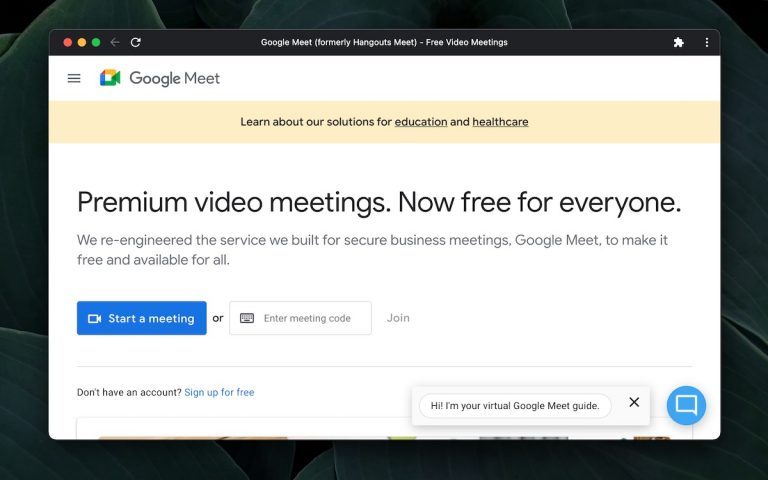 Как скачать Google Meet
