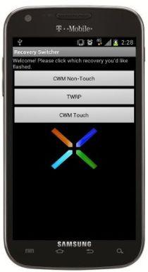 Установите CWM Touch Recovery или TWRP на T-Mobile Galaxy S II и Skyrocket