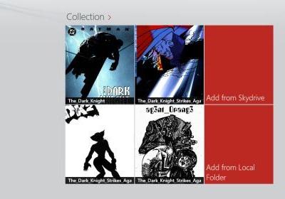Echo Comics — это программа для чтения комиксов для Windows 8 с поддержкой SkyDrive