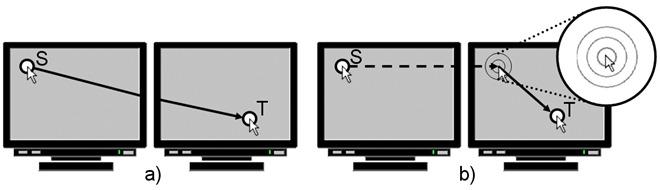 Быстрый переход указателя мыши на несколько мониторов с помощью M3
