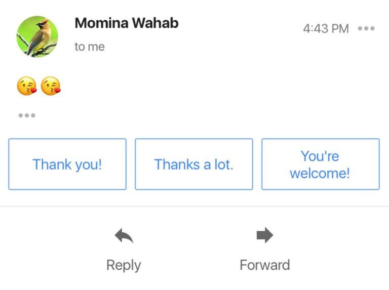 Как использовать умные ответы в Gmail