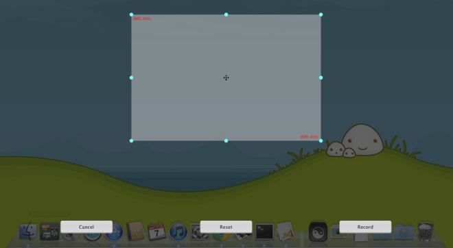 Инструмент скринкастов с захватом щелчка мышью [Mac]