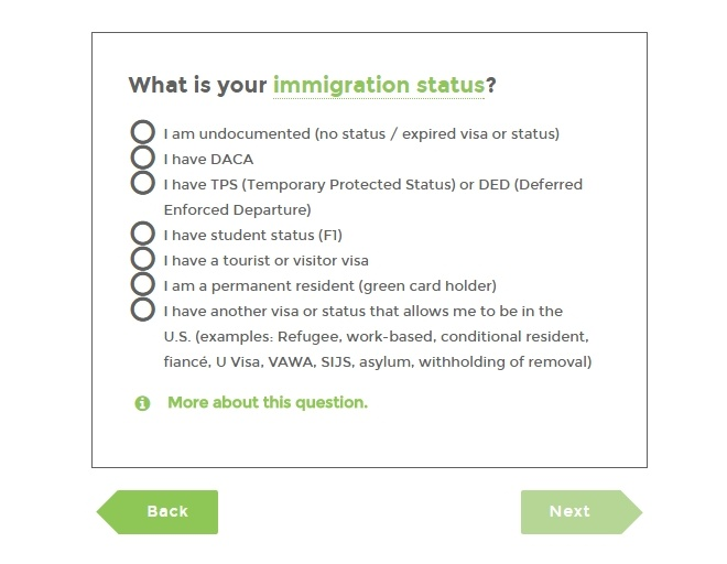 Найдите свой легальный иммиграционный статус в США и получите полезные ресурсы