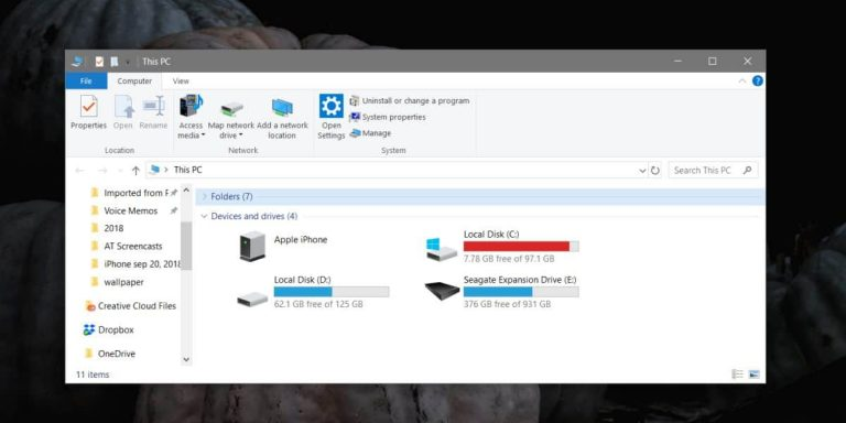 Каковы требования к пространству хранения для обновления Windows 10 October 2019 Update