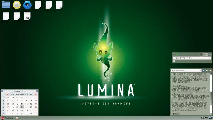 Как установить BSD Lumina в Linux