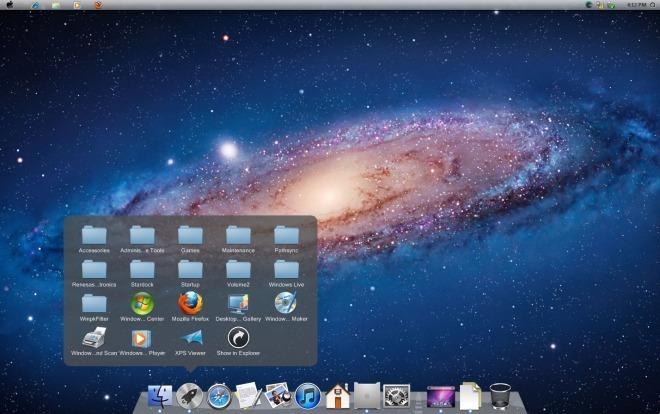 Lion UX Pack преобразовывает Windows 7 в пользовательский интерфейс Mac OS X Lion