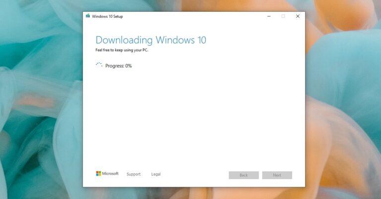 Инструмент создания Windows Media не работает?  (Решено)