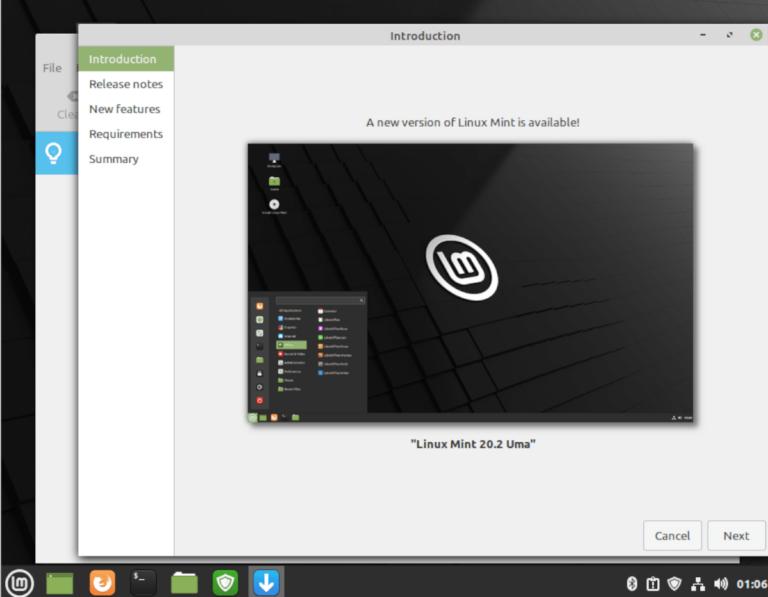 Как перейти на Linux Mint 20.2