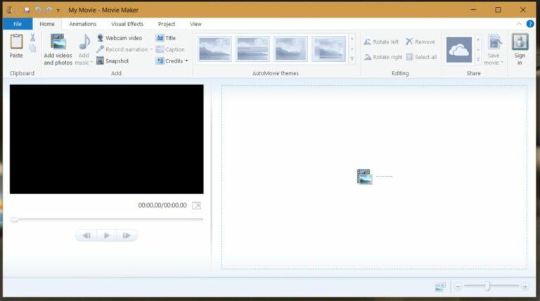 Как установить Microsoft Movie Maker в Windows 10