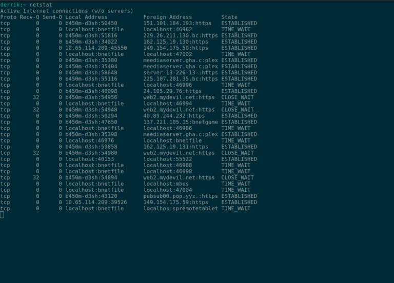 Как установить Netstat в Linux