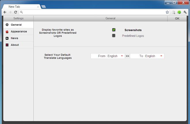 Получите аккуратную страницу новой вкладки в Chrome с лентой новостей и встроенным переводчиком
