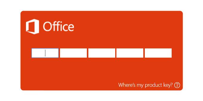 Как проверить подлинность ключа продукта Office 2016