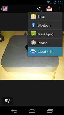 Виртуальный принтер Google для Android позволяет удаленную печать на ходу