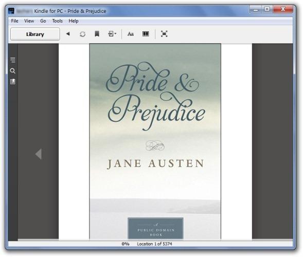 Синхронизация и чтение электронных книг Kindle на ПК с помощью Kindle для ПК