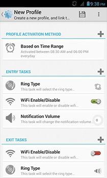 Профиль потока позволяет легко автоматизировать систему на основе времени на Android