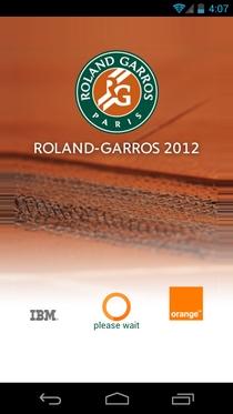 Официальное приложение Roland-Garros 2012 для Android теперь доступно для загрузки