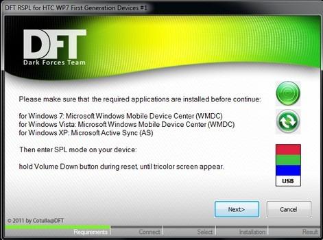 Получите HSPL / RSPL для устройств HTC WP7 для прошивки новых ПЗУ [How To]