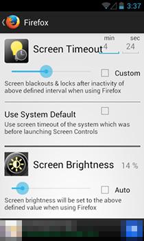 Установите настраиваемую яркость и тайм-аут экрана для отдельных приложений Android