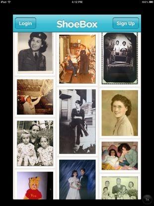 Сканируйте и сохраняйте памятные фотографии в облаке с помощью ShoeBox для iPhone