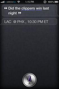 Спросите Siri на iPhone 4S о результатах матчей НБА [Cydia Tweak]