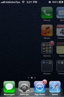 Заблокируйте свой iPhone, проведя пальцем к области поиска Spotlight [Cydia]