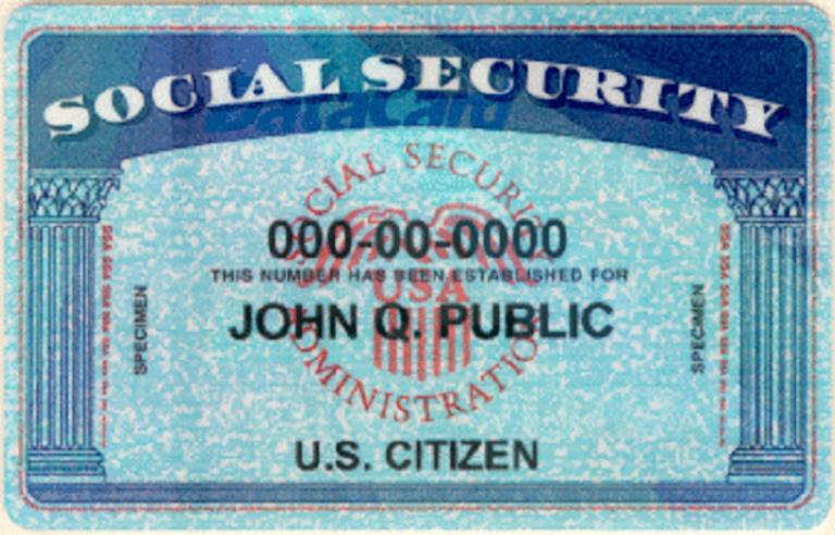 Могу ли я провести проверку данных без номера социального страхования?