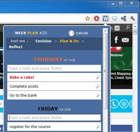 Параллельное управление ежедневными списками дел и долгосрочными планами [Chrome]