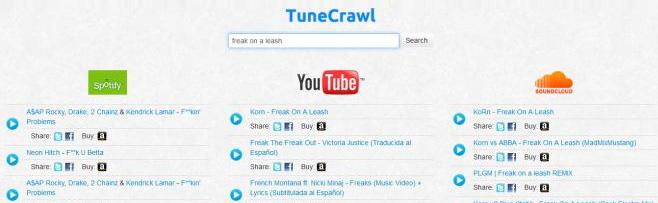 Поиск и воспроизведение музыки Spotify, YouTube и SoundCloud из одного места