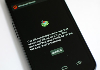 Universal Unroot предлагает отключение в один клик для любого устройства Android