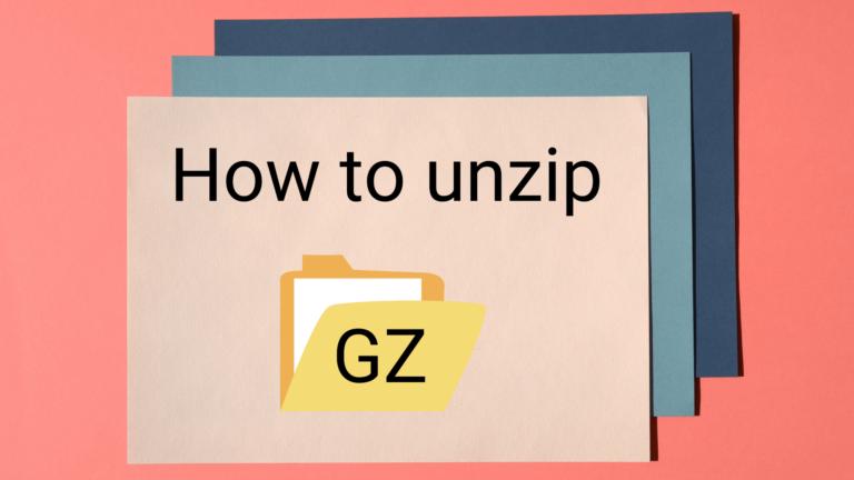 Как открыть файлы GZ в Windows и Linux (Руководство по CMD)